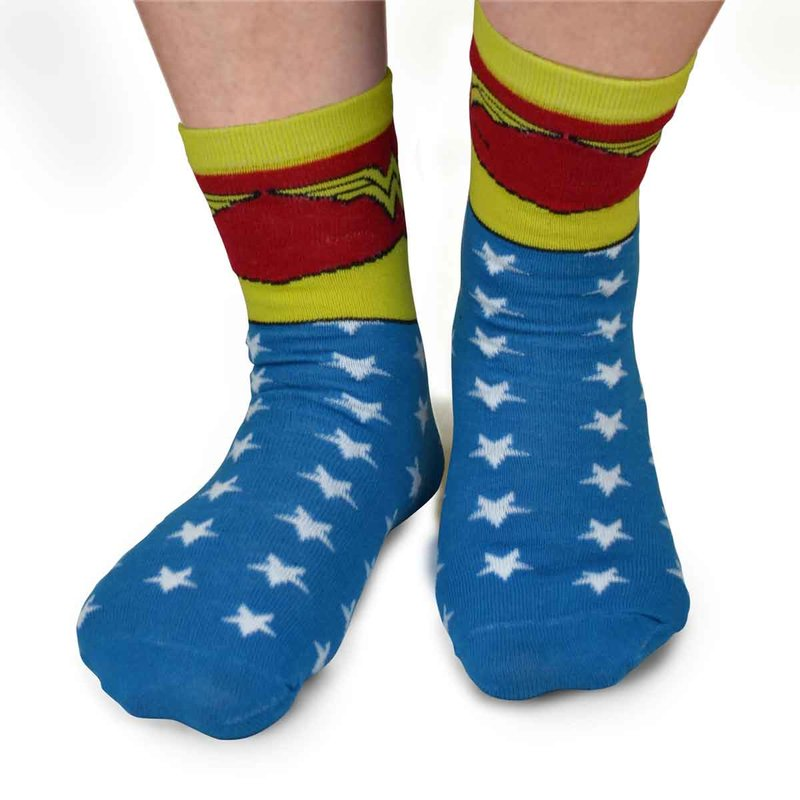 Socken Motiv Wonder Woman Gr. 35-38 DC